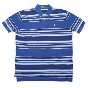 Vintage POLO by Ralph Lauren Blue Striped